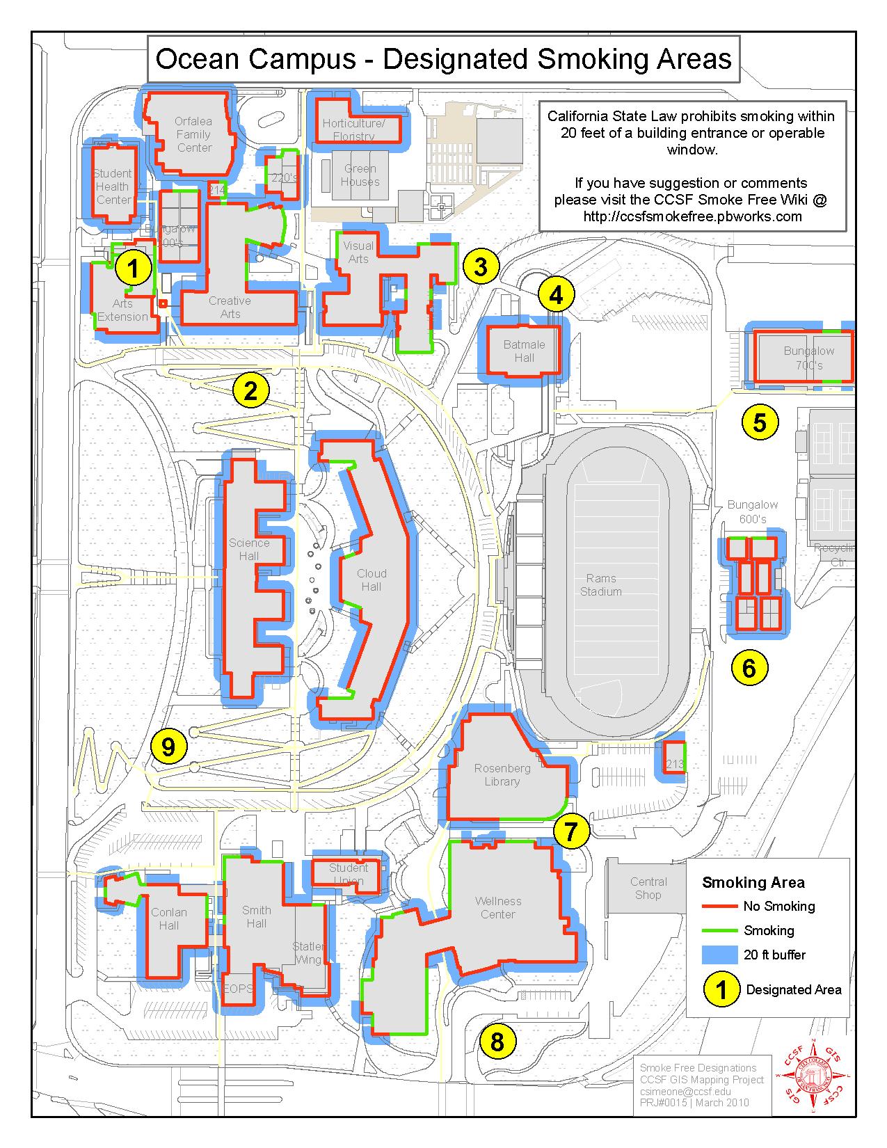 Ccsf Campus Map | compressportnederland